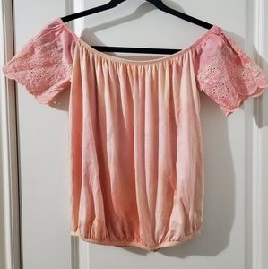 One of a Kind Tie Dye Off Shoulder Top